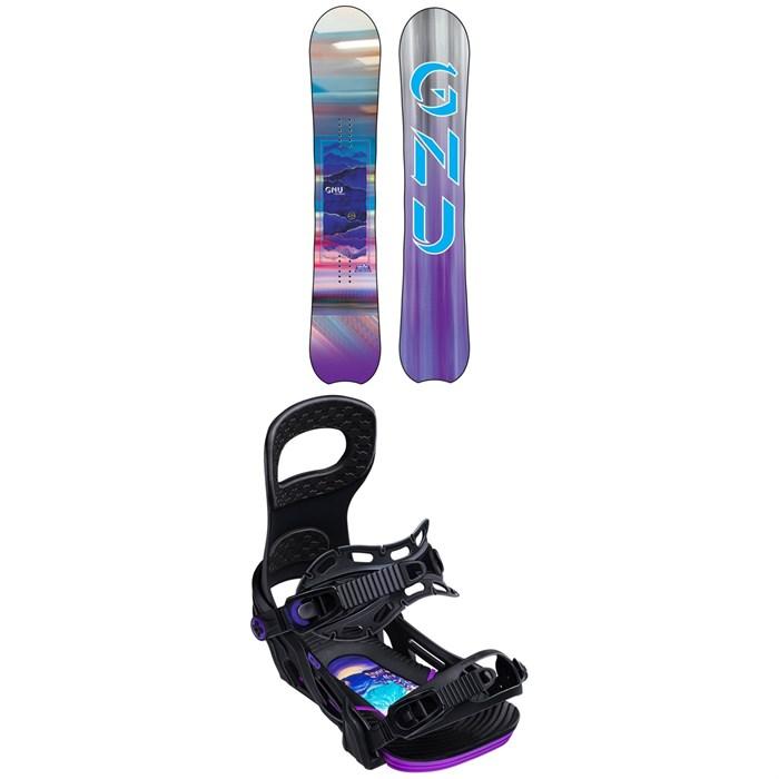 GNU - Chromatic BTX Snowboard - Women's + Bent Metal Metta Snowboard Bindings - Women's 2020