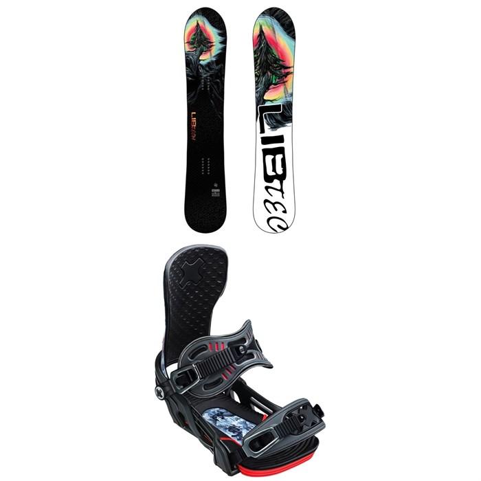 Lib Tech - Dynamo C3 Snowboard + Bent Metal Cor-Pro Snowboard Bindings 2020
