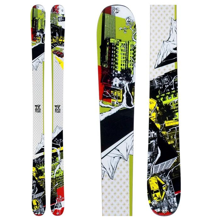 K2 - Kung Fujas Skis 2009