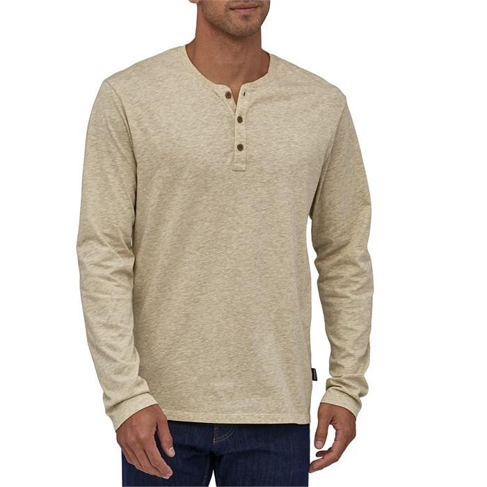 Patagonia - Long-Sleeve Organic Cotton Lightweight Henley Shirt