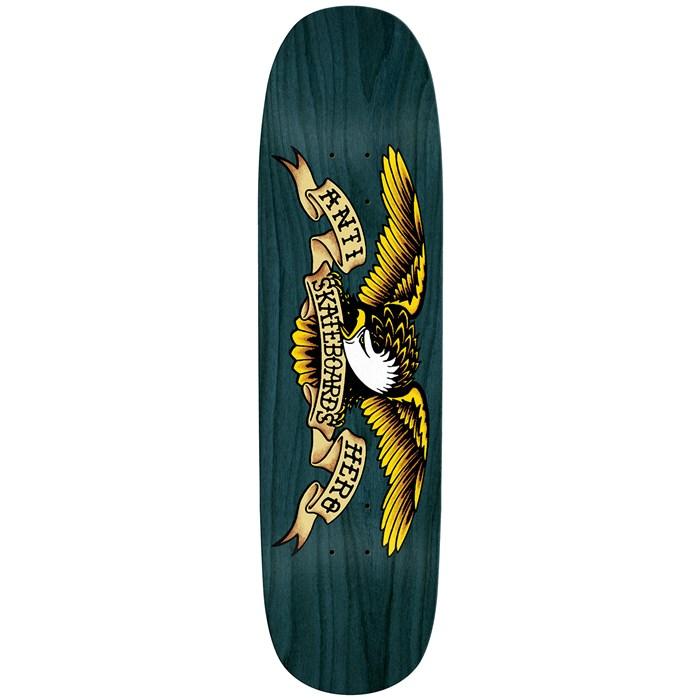 Anti Hero - Shaped Eagle Overspray Blue Meanie 8.75 Skateboard Deck