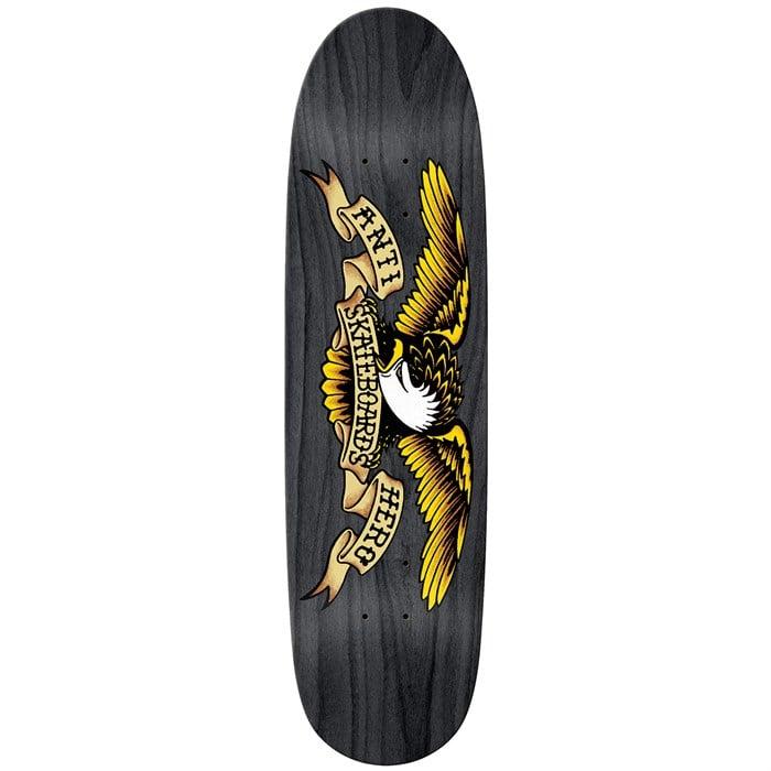 Anti Hero - Shaped Eagle Overspray Black Widow 8.5 Skateboard Deck