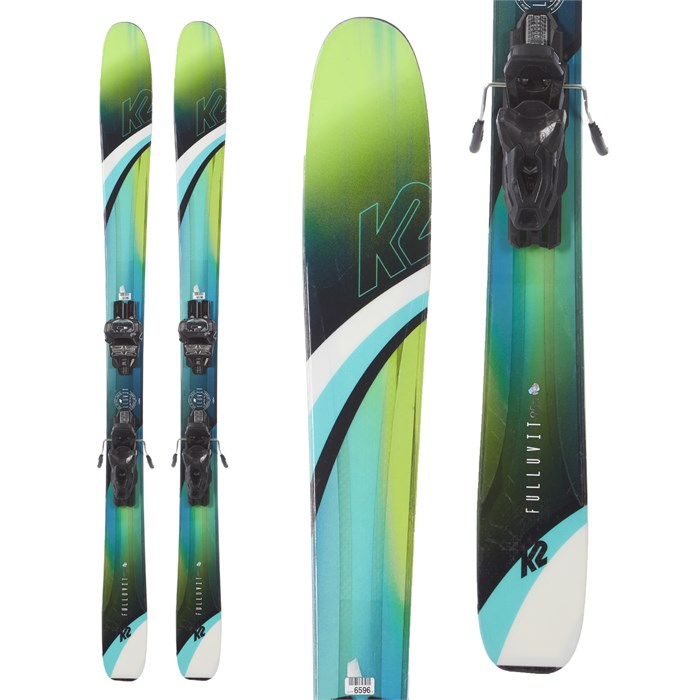 K2 - Fulluvit 95 Ti Skis + Tyrolia Attack 11 AT Demo Bindings - Women's 2019 - Used