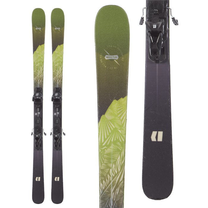 Armada - Invictus 85 Skis + Warden MNC 11 Bindings 2019 - Used