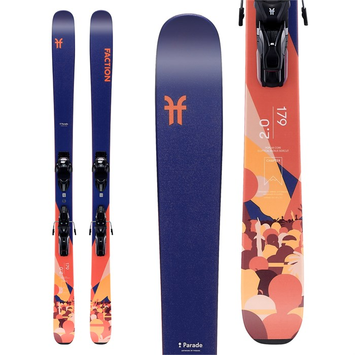Faction - Chapter 2.0 Skis + Warden MNC 11 Bindings 2020
