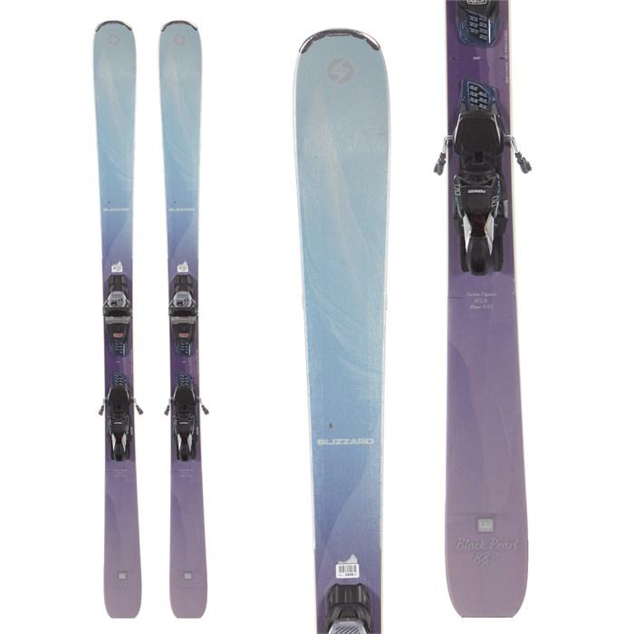Blizzard - Black Pearl 88 SP Skis + Marker TCx 11 Demo Bindings - Women's 2019 - Used