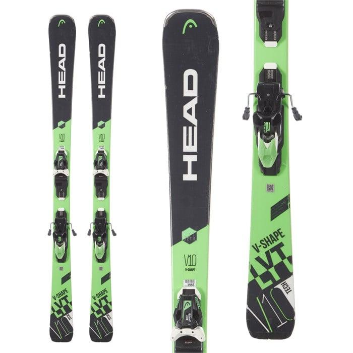 Head - V-Shape V10 Skis + LYT PR 12 GW Bindings 2019 - Used