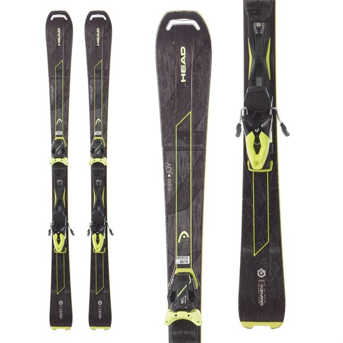 Head - Super Joy Skis + Joy 11 SLR Bindings - Women's 2017 - Used