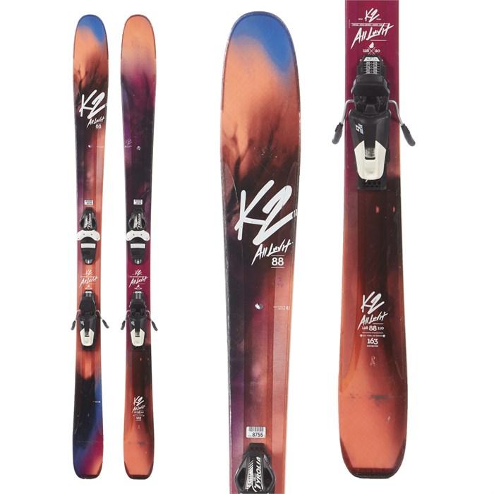 K2 - AlLUVit 88 Skis + Tyrolia SLR 9 Demo Bindings - Women's 2017 - Used