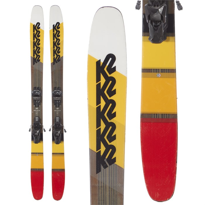 K2 Marksman Skis + Tyrolia Attack² 13 AT Demo Bindings
