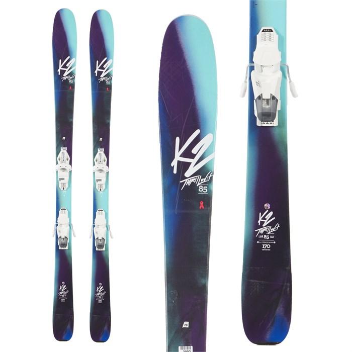 K2 - ThrilLUVit 85 Skis + Tyrolia SLR 9 Demo Bindings - Women's 2018 - Used