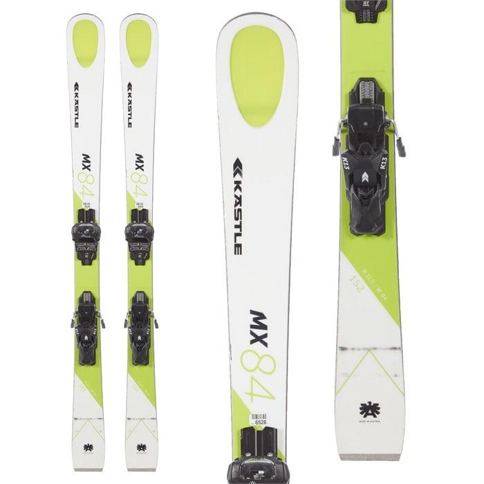Kastle - MX84 Skis + K13 Attack Bindings 2018 - Used