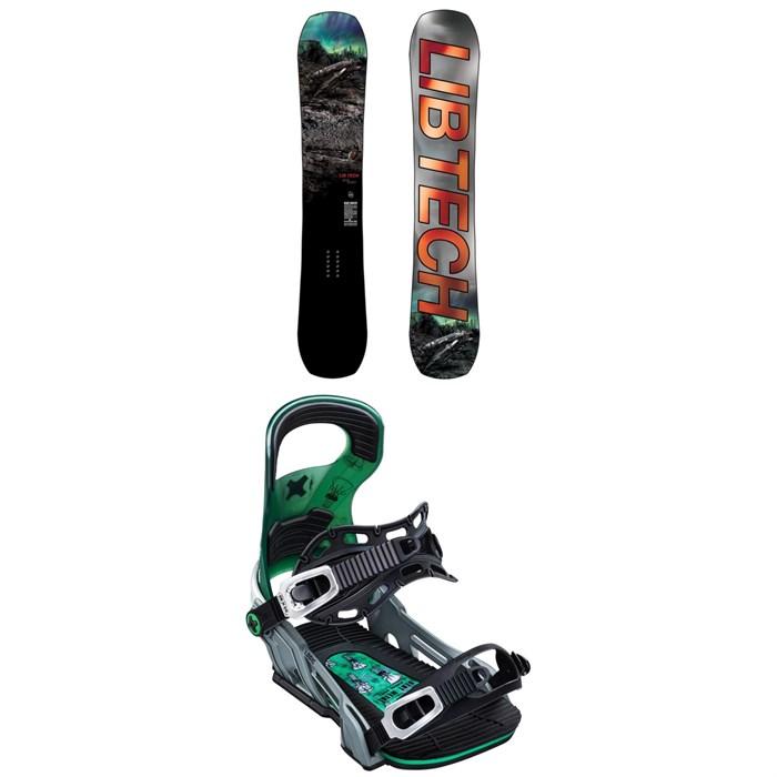 Lib Tech - Box Knife C3 Snowboard + Bent Metal Logic Snowboard Bindings 2020