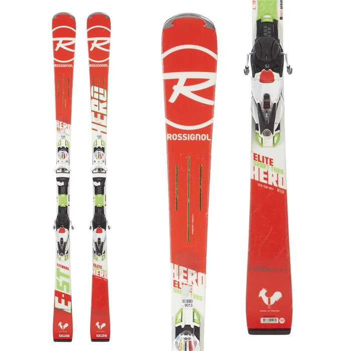 Rossignol - Hero Elite ST Ti Skis + SPX 12 Konect Dual WTR Bindings 2018 - Used