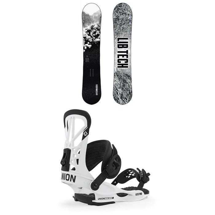 Lib Tech - Cold Brew C2 Snowboard + Union Flite Pro Snowboard Bindings 2020