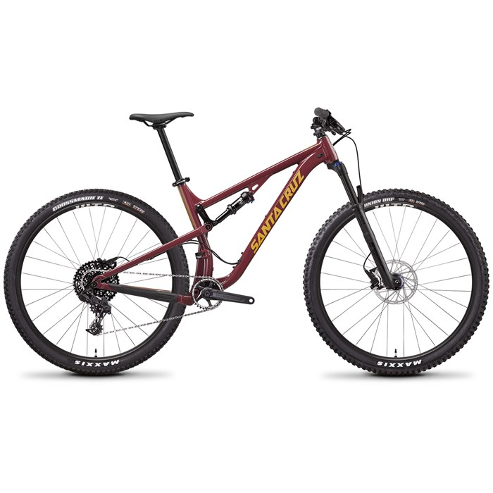 side facing santa cruz bicycles tallboy a d