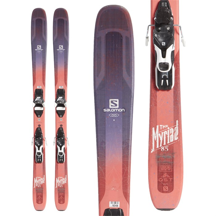 Salomon QST Myriad 85 Skis + Warden 11 Demo Bindings