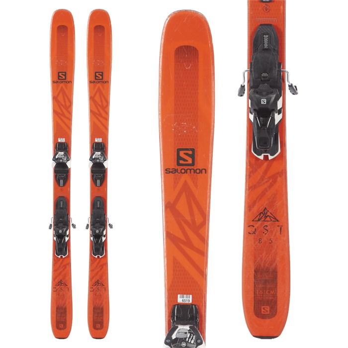 Salomon - QST 85 Skis + Warden MNC 13 Bindings 2019 - Used