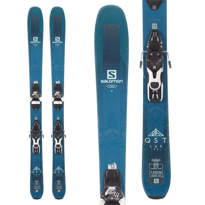 Salomon - QST Lux 92 Skis + Warden 11 Bindings - Women's 2019 - Used