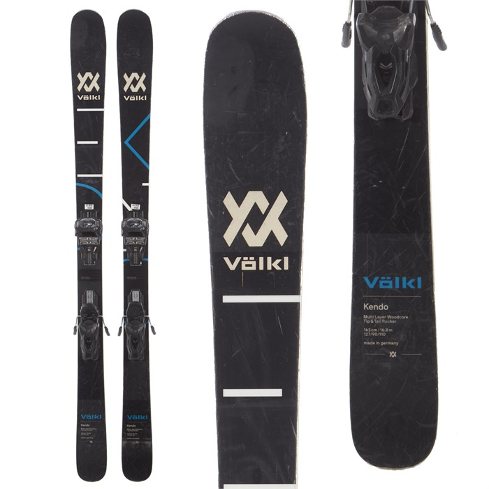 Volkl Kendo Skis + Tyrolia Attack² 11 AT Bindings 2019