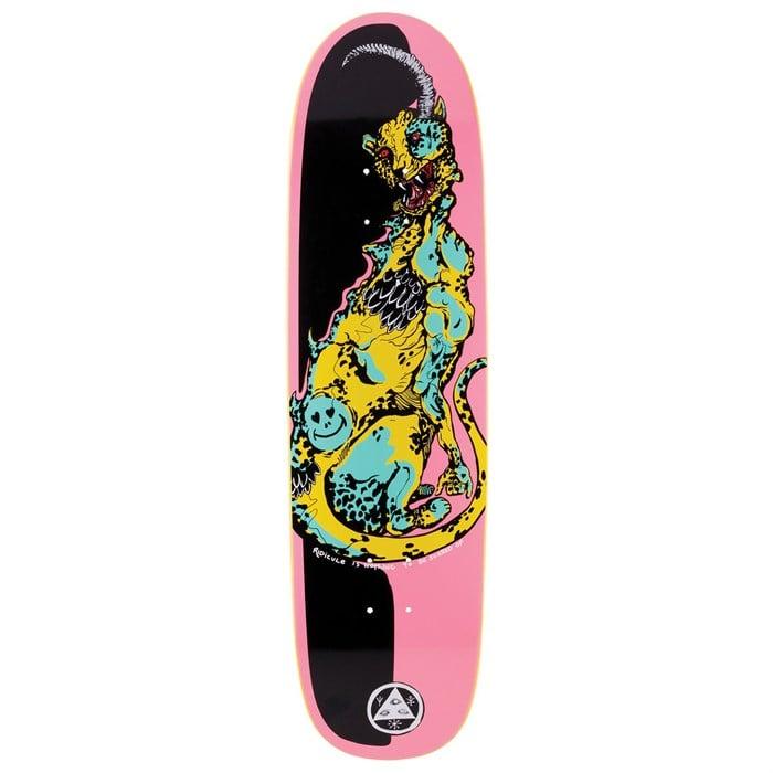 Welcome - Cheetah on Sylphstick 8.5 Skateboard Deck
