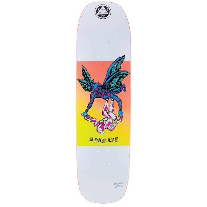 Welcome - Somewhere on Stonecipher 8.6 Skateboard Deck