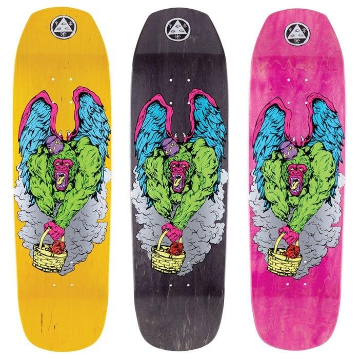 Welcome - Flying Ape on Banshee 90 9.0 Skateboard Deck
