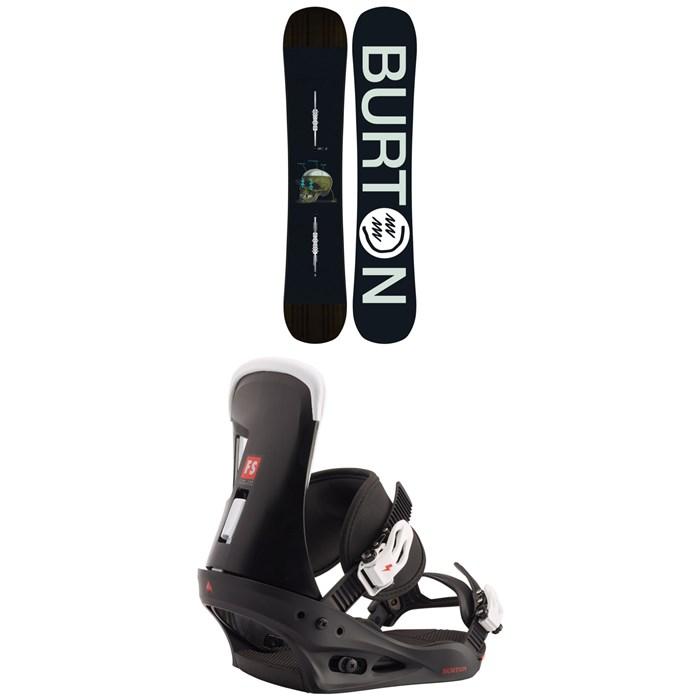 Burton - Instigator Snowboard + Burton Freestyle Snowboard Bindings 2020