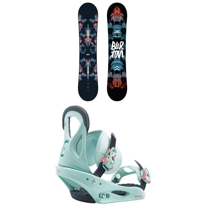 Burton - Stylus Snowboard - Women's + Burton Citizen Snowboard Bindings - Women's 2020