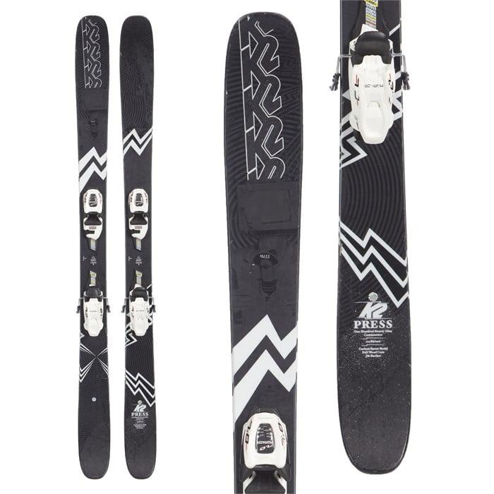 K2 Press Skis + Marker Squire 11 Demo Bindings 2019