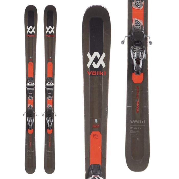 Volkl M5 Mantra Skis + Marker Griffon 13 TCX Demo Bindings
