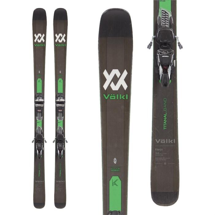 Volkl - Kanjo Skis + Marker Griffon 13 TCX Demo Bindings 2019 - Used
