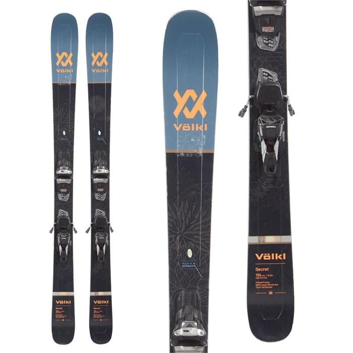 Volkl Secret Skis + Marker Squire 11 TCX Demo Bindings