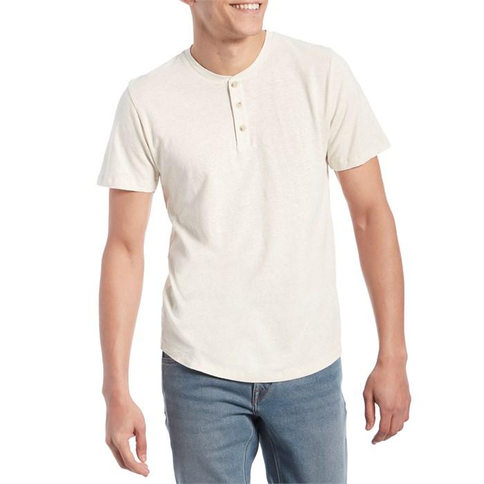 Mollusk - Short-Sleeve Henley T-Shirt