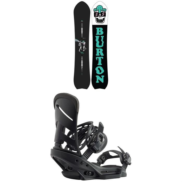 Burton - Kilroy Directional Snowboard + Burton Mission EST Snowboard Bindings 2020