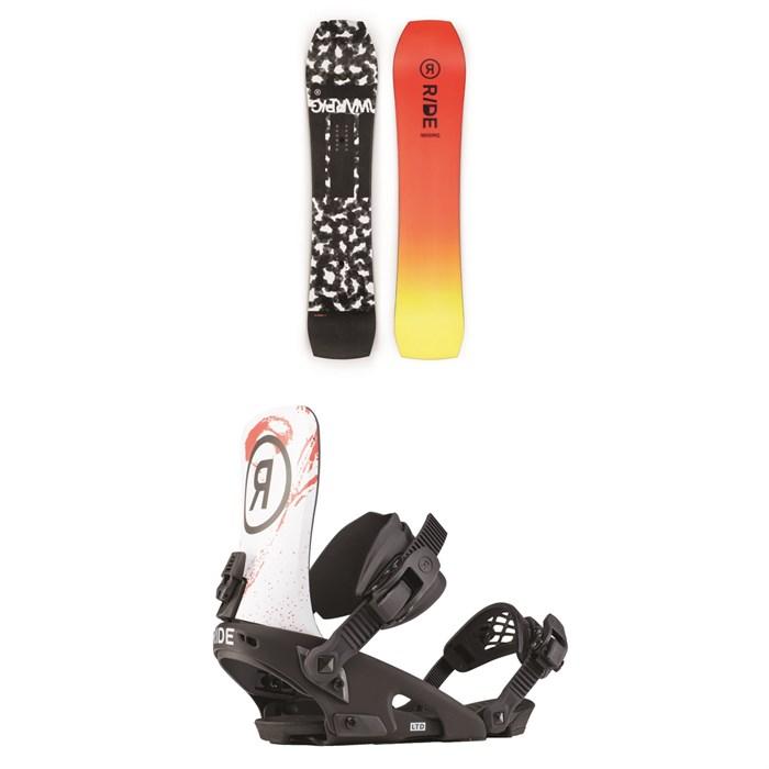 Ride - Warpig Snowboard + Ride LTD Snowboard Bindings 2020
