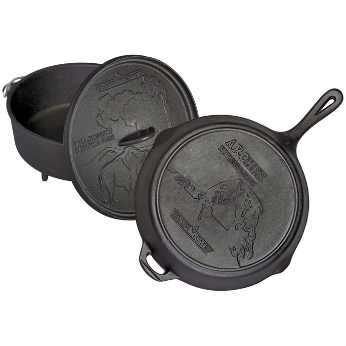 Camp Chef - National Parks Cast Iron Set
