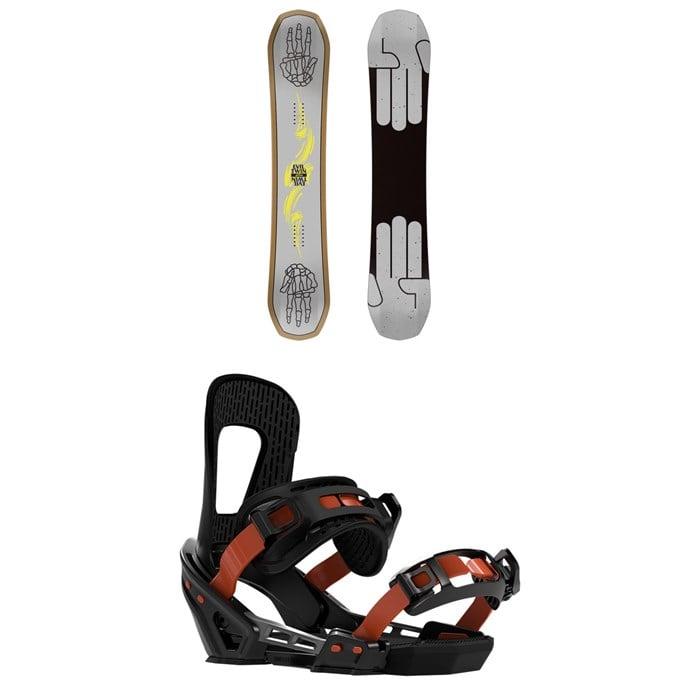 Bataleon - Evil Twin Snowboard + Switchback Smith Snowboard Bindings 2020