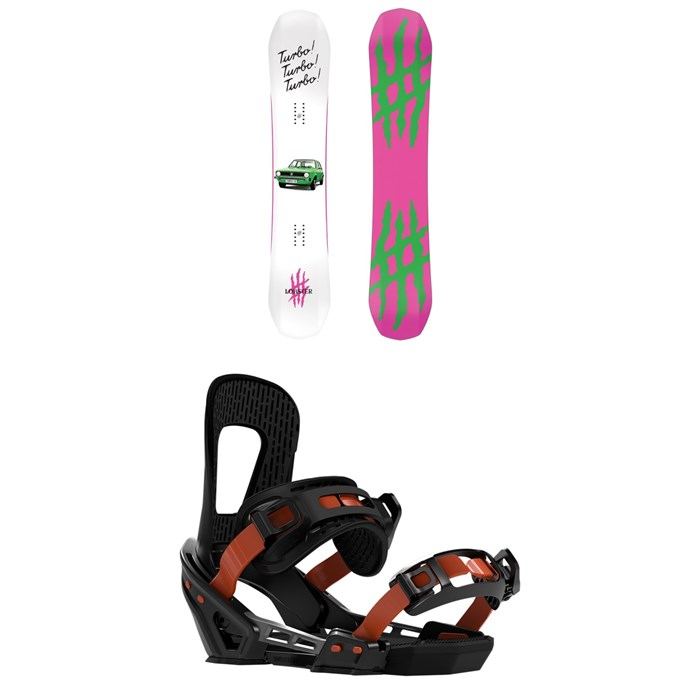 Lobster - The Stomper Snowboard + Switchback Smith Snowboard Bindings 2020