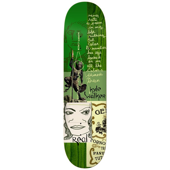 Real - Kyle Postcards From Mark Full 8.38 Skateboard Deck