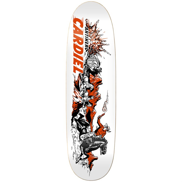 Anti Hero - Cardiel Getaway Sticks 9.18 Skateboard Deck