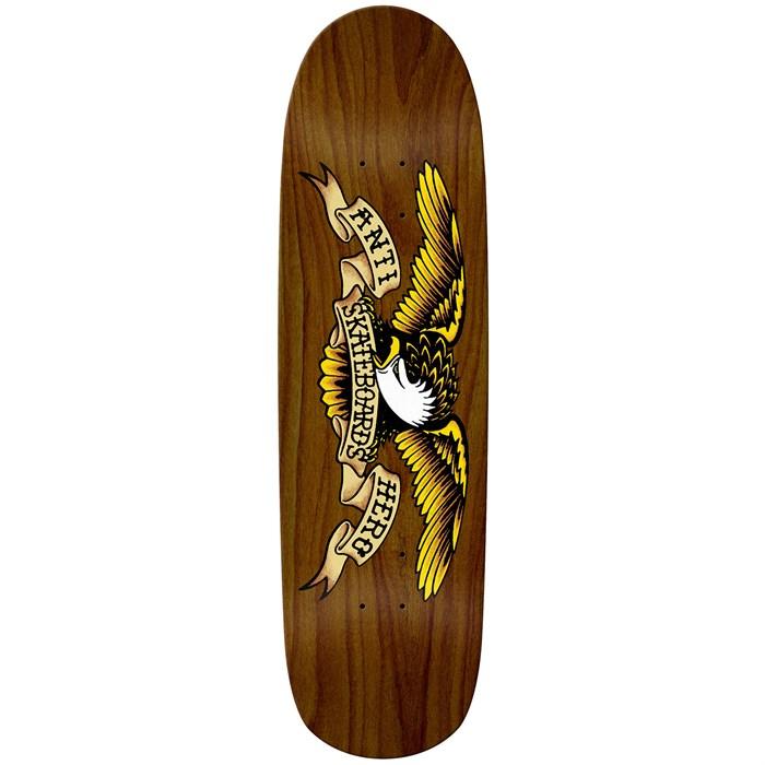 Anti Hero - Shaped Eagle Overspray Brown Bomber 8.86 Skateboard Deck