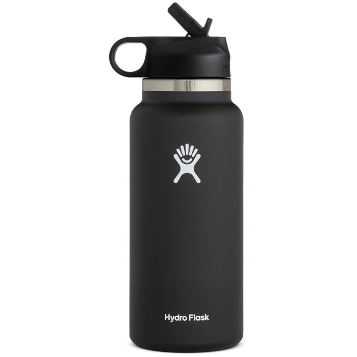 Hydro Flask - 32oz Wide Mouth Straw Lid Water Bottle