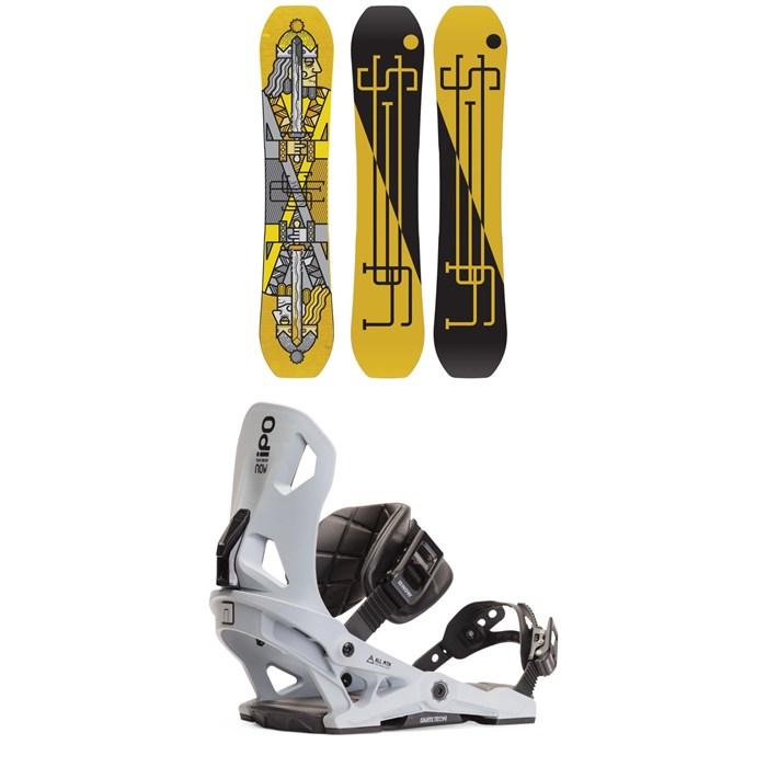 Yes. - Jackpot Snowboard + Now IPO Snowboard Bindings 2020