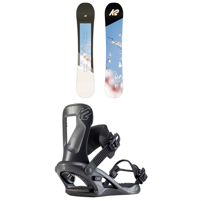 K2 - Bright Lite Snowboard - Women's + K2 Bedford Snowboard Bindings - Women's 2020
