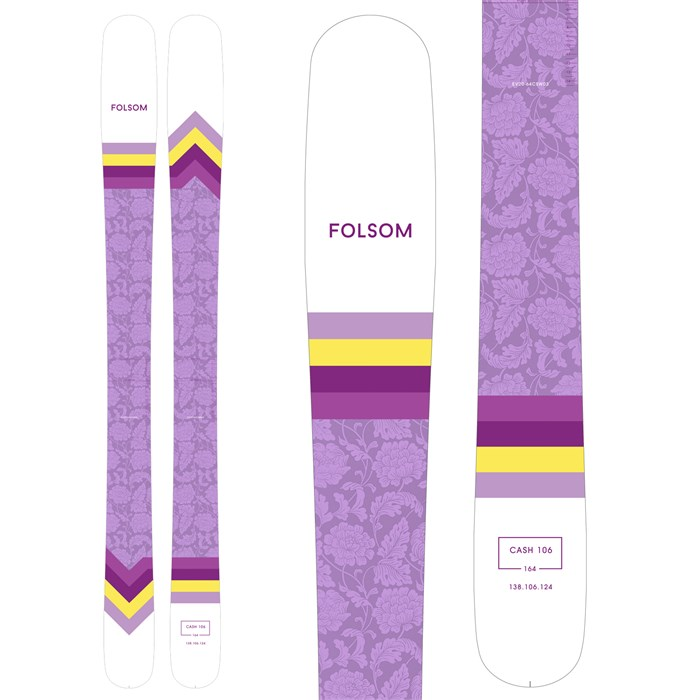 Folsom Skis - Cash 106 Skis - Women's 2021