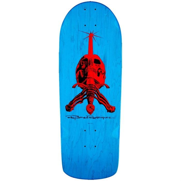 Powell Peralta - OG Rodriguez Skull and Sword Snub 9.97 Skateboard Deck