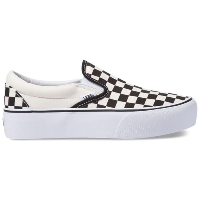 Vans - Classic Slip-On Platform Shoes - Women's