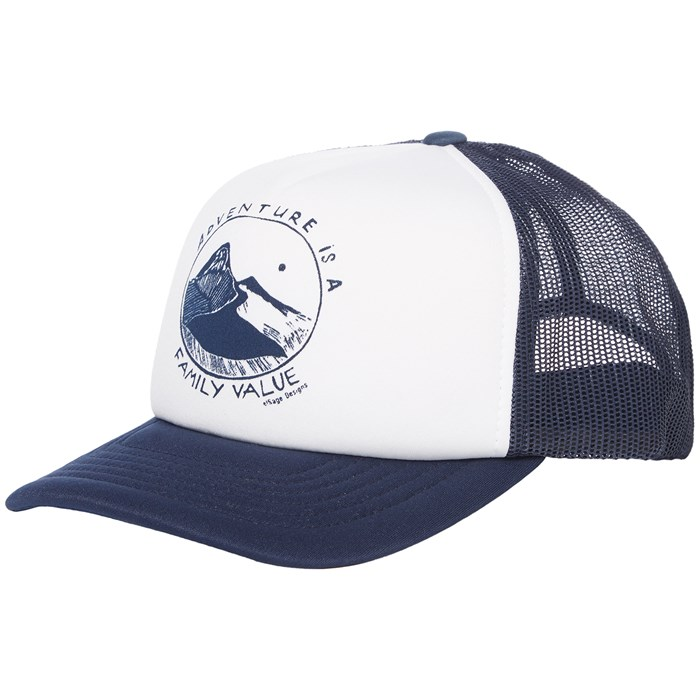 elSage Designs - Adventure Is A Family Value Trucker Hat
