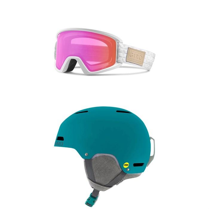 Giro - Dylan Goggles - Women's + Giro Ledge MIPS Helmet
